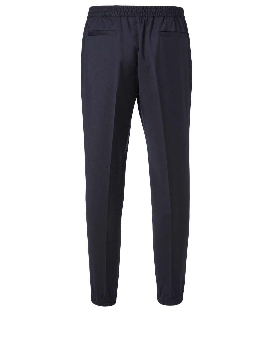 ERMENEGILDO ZEGNA Wool Jogger Pants Men's Blue