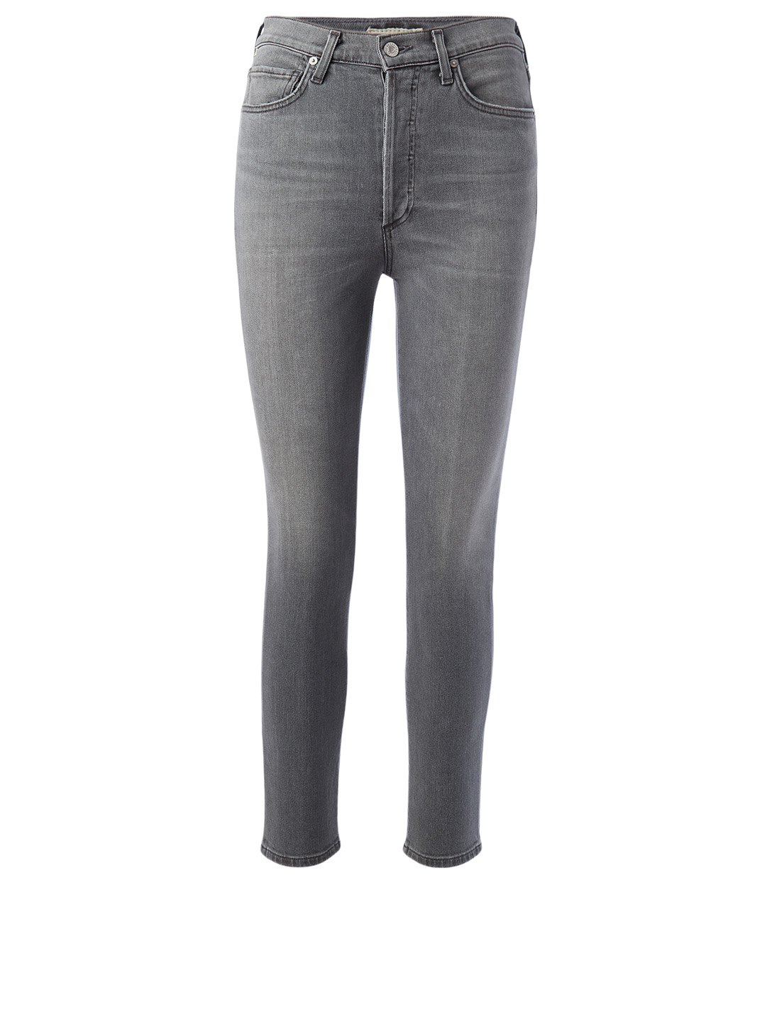 CITIZENS OF HUMANITY Olivia High-Waisted Slim Jeans Women's Grey