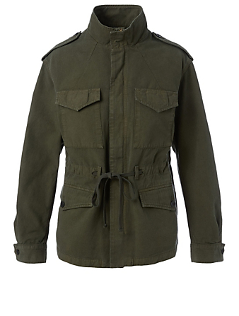 CITIZENS OF HUMANITY Vivienne Army Jacket Women's Green