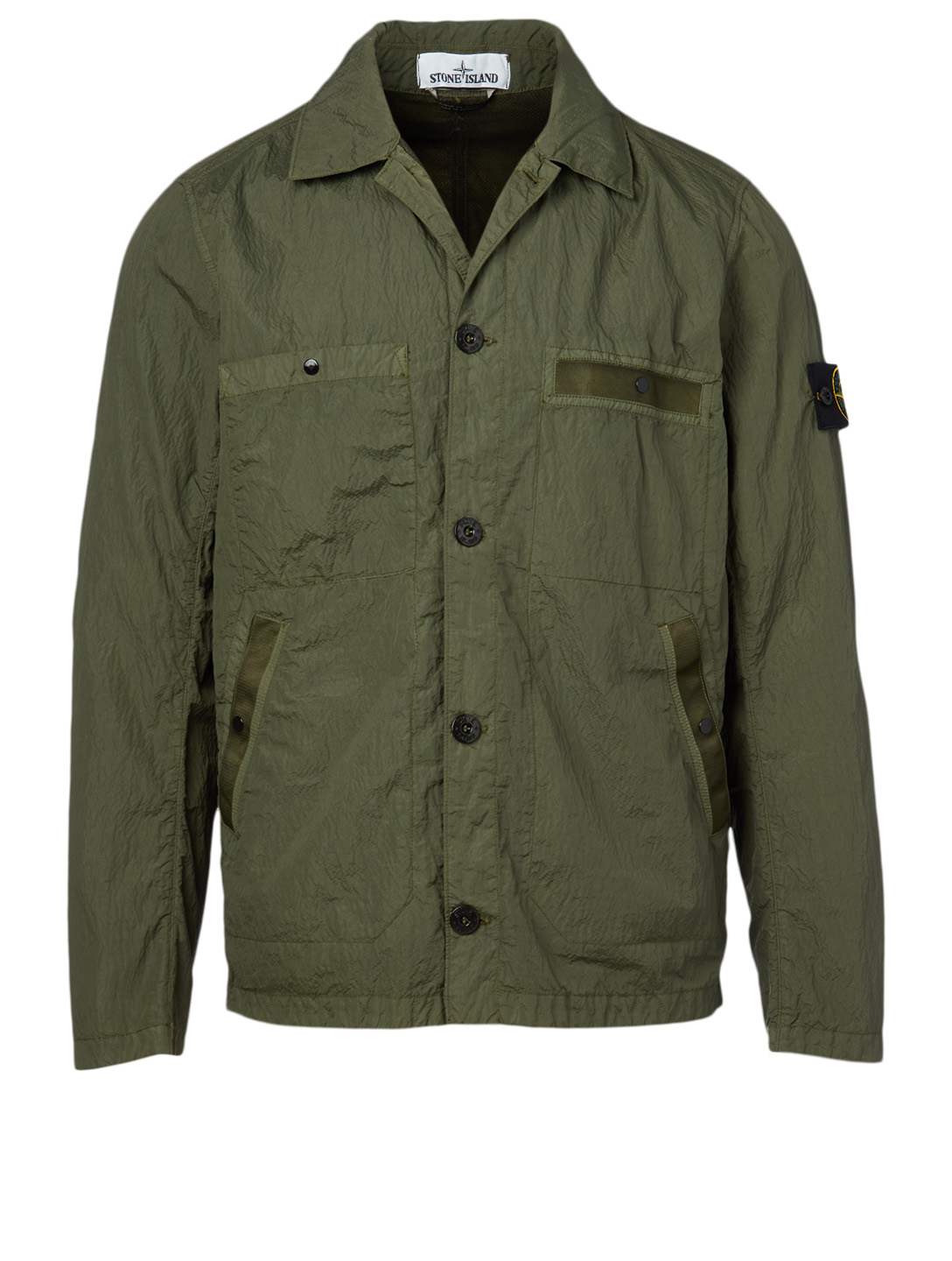 STONE ISLAND Shirt Jacket Men's Green