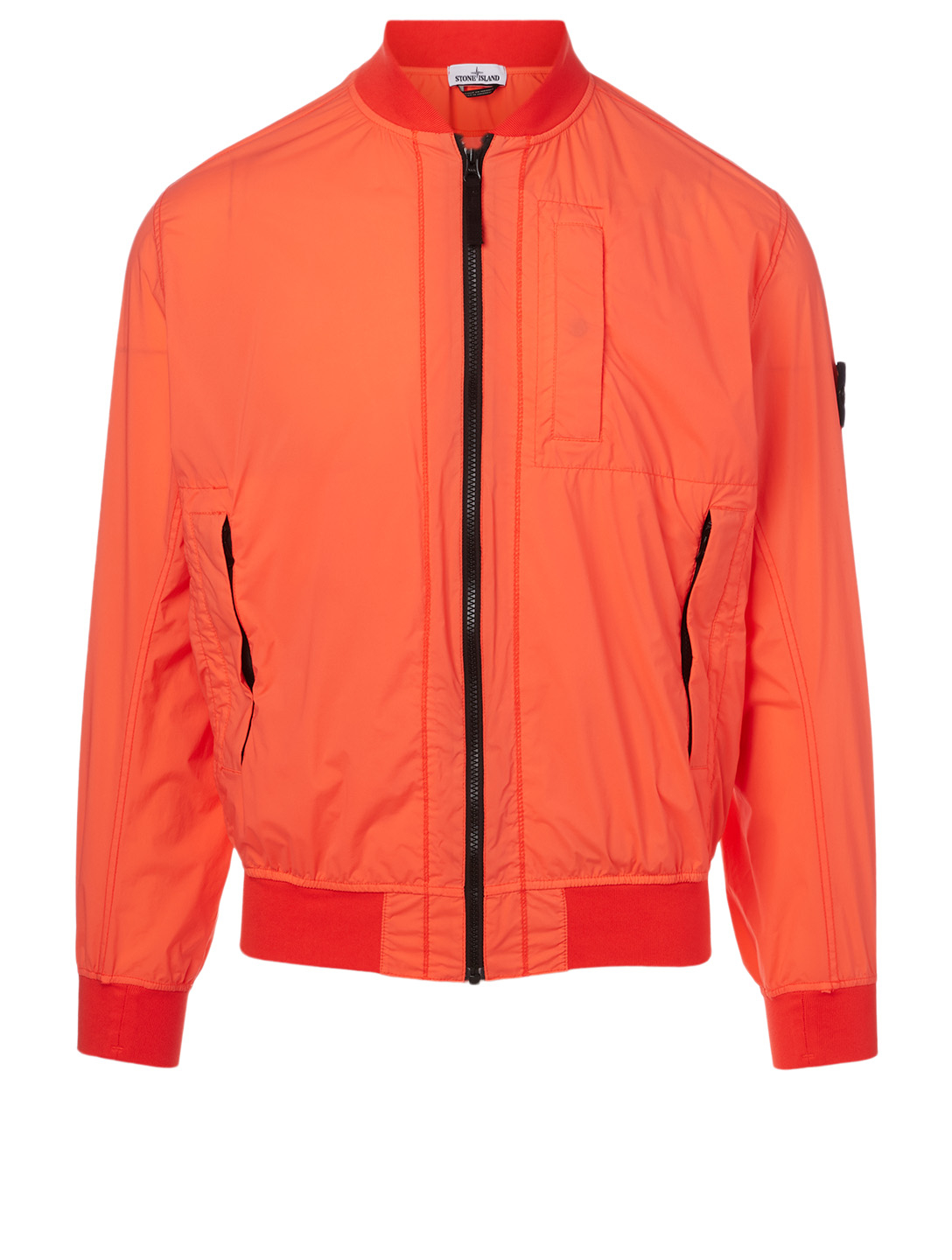 STONE ISLAND Nylon Packable Jacket Men's Orange