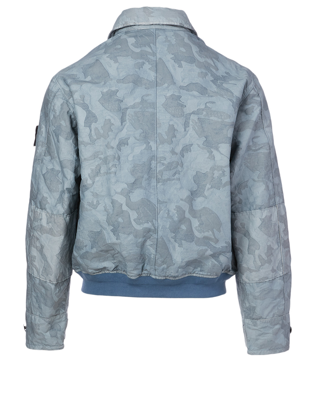 STONE ISLAND Big Loom Jacket In Camo Print Men's Blue