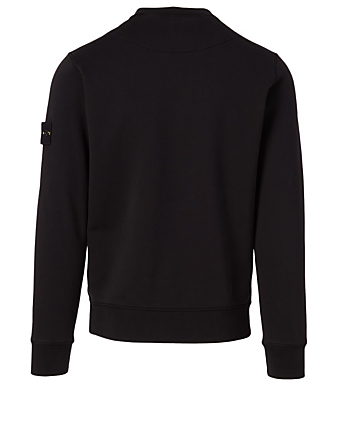 STONE ISLAND Cotton Sweatshirt Men's Black