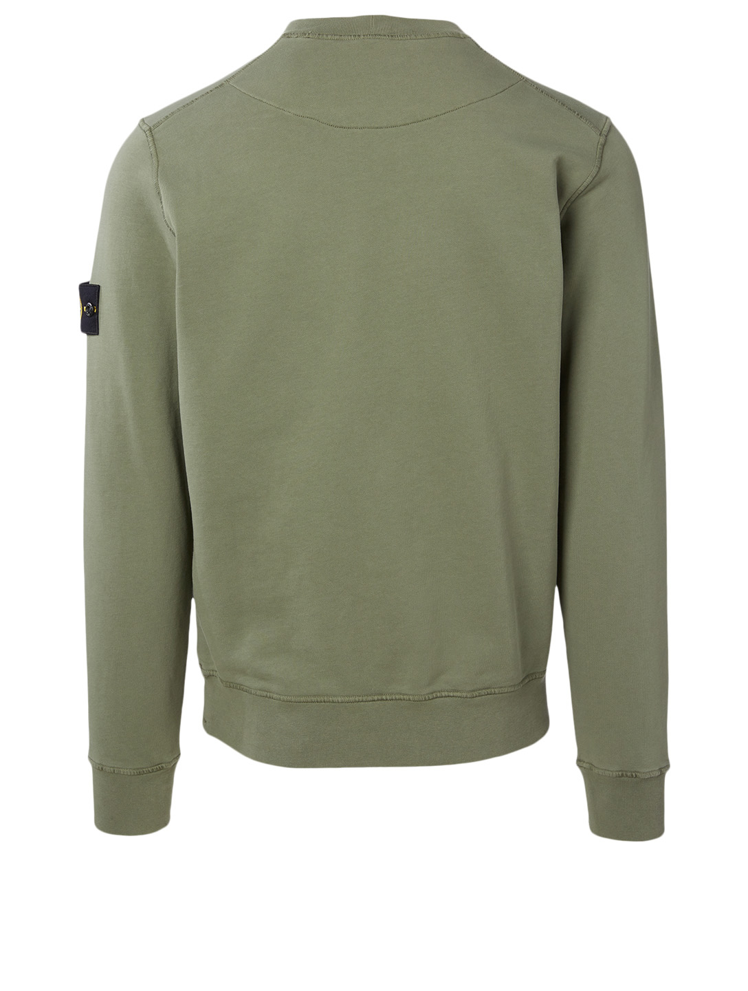 STONE ISLAND Cotton Sweatshirt Men's Green
