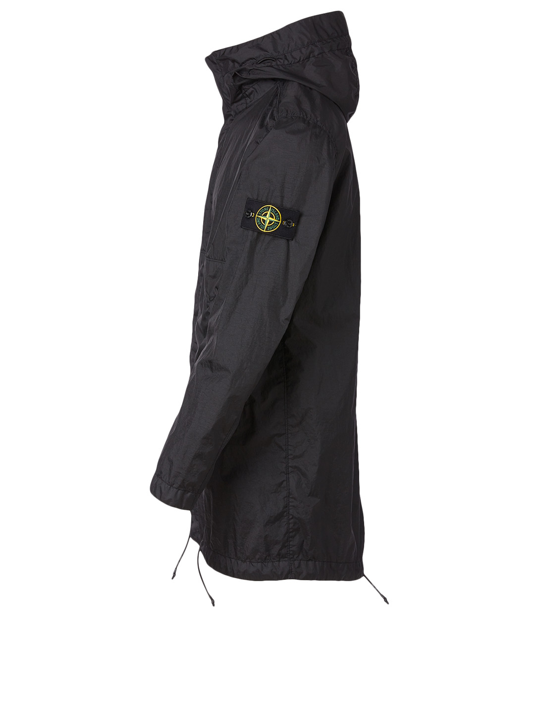 STONE ISLAND Membrana Fishtail Coat Men's Black