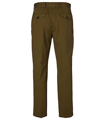 DRIES VAN NOTEN Pecan Cotton Pants Men's Beige