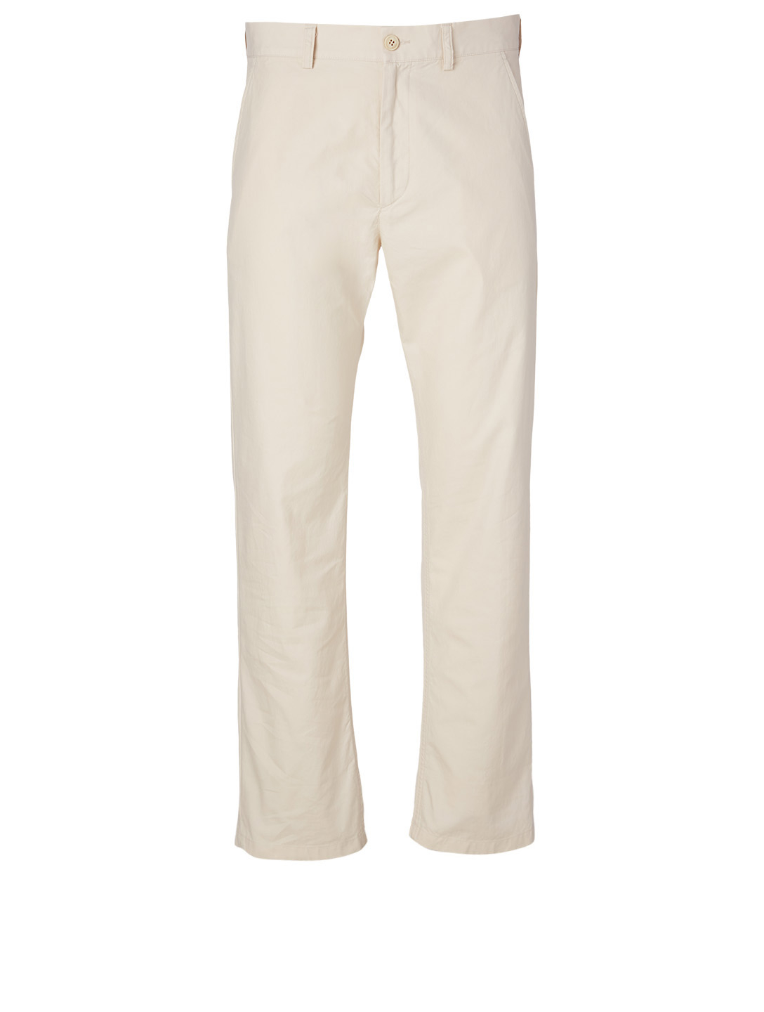 DRIES VAN NOTEN Petricks Cotton Pants Men's White