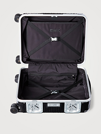 FPM Bank Light Spinner 55 Carry-On Suitcase Luggage Black