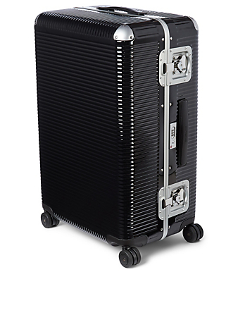 FPM Large Bank Light Four Wheel Trunk Luggage Black