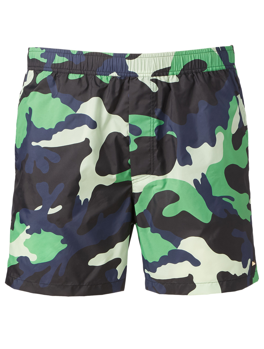 VALENTINO Swim Shorts In Camo Print Men's Multi