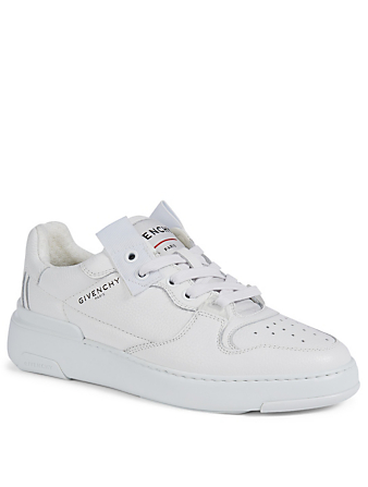 GIVENCHY Wing Leather Sneakers Women's White