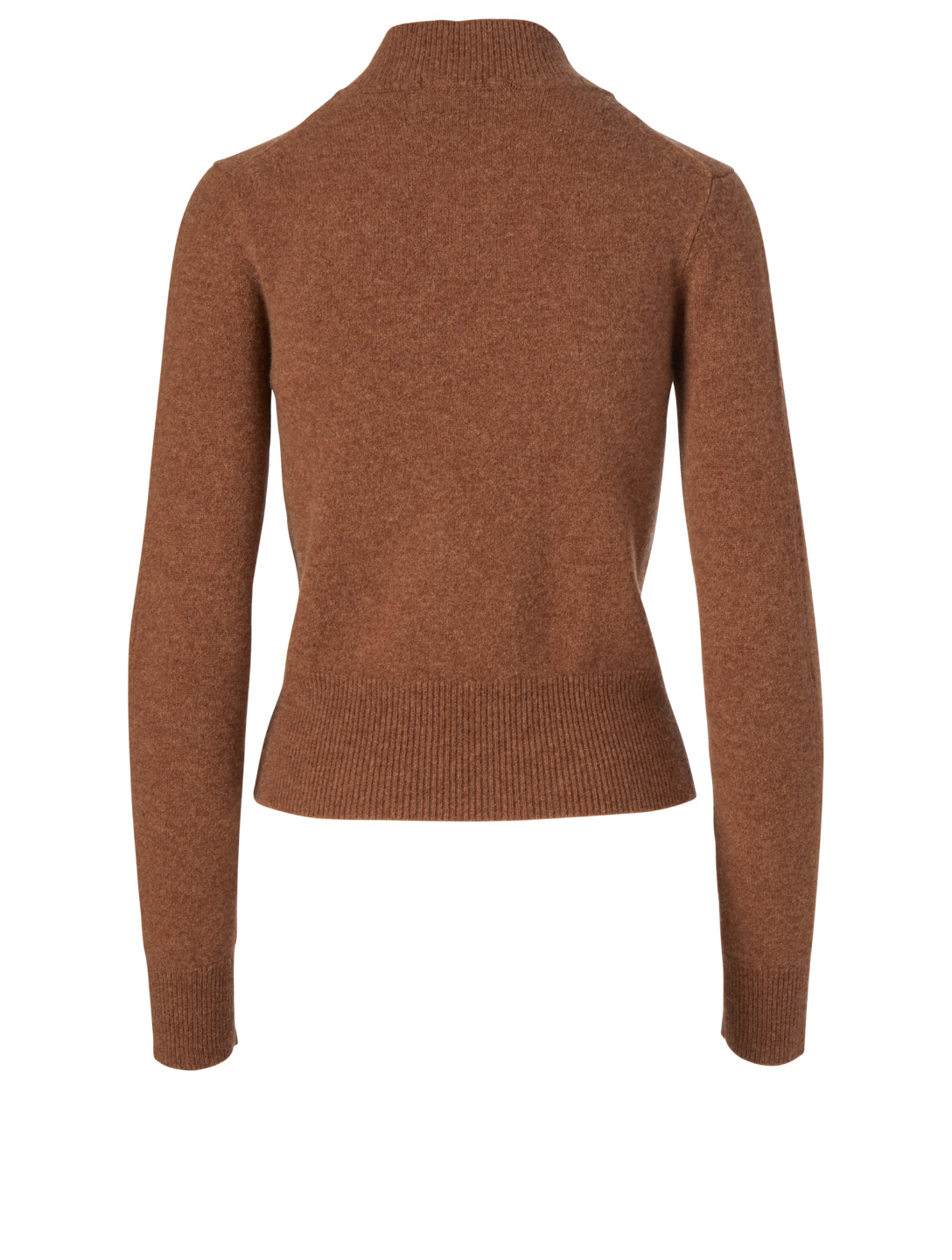 VICTORIA BECKHAM Wool Cropped Sweater Women's Beige