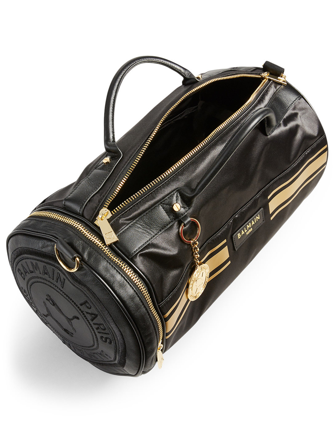 PUMA X BALMAIN Barrel Bag Women's Black