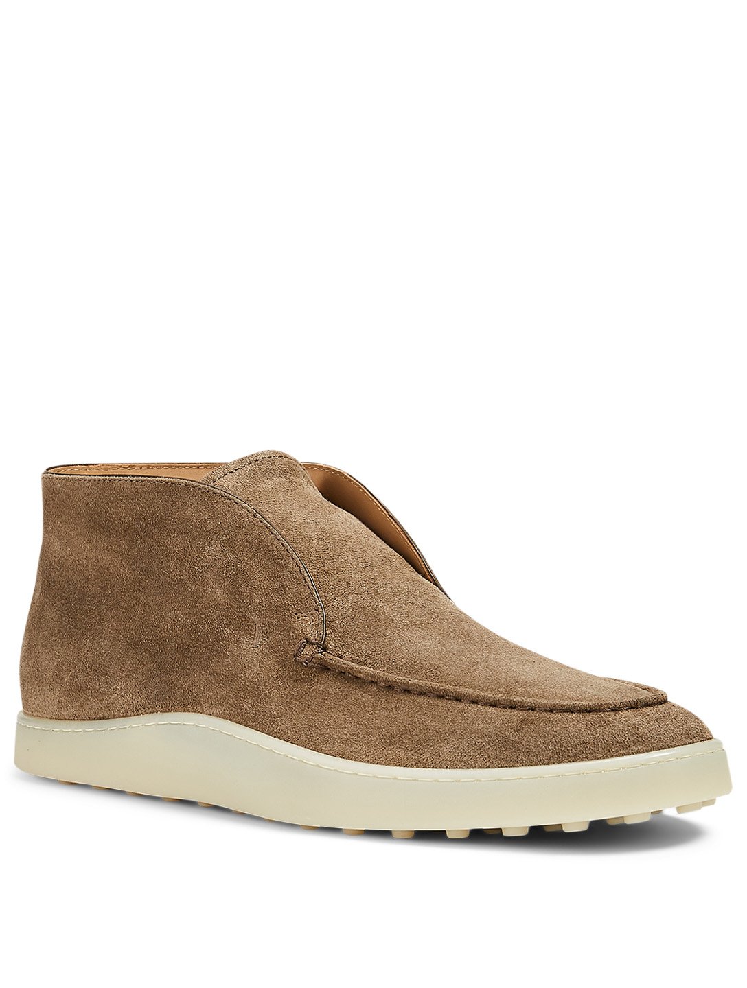 TOD'S Suede Ankle Boots Men's Beige
