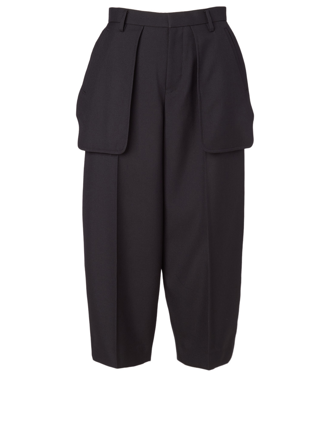 NOIR KEI NINOMIYA Wool-Blend Pocket Pants Women's Black