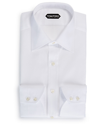 TOM FORD Cotton Shirt Men's White