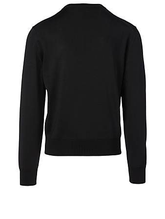 TOM FORD Silk And Wool Sweater Men's Black
