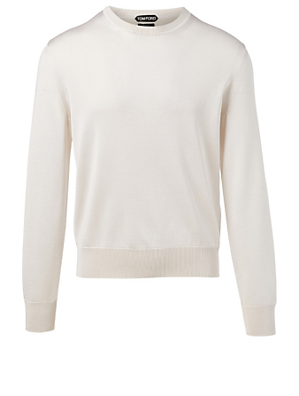 TOM FORD Silk And Wool Sweater Men's White