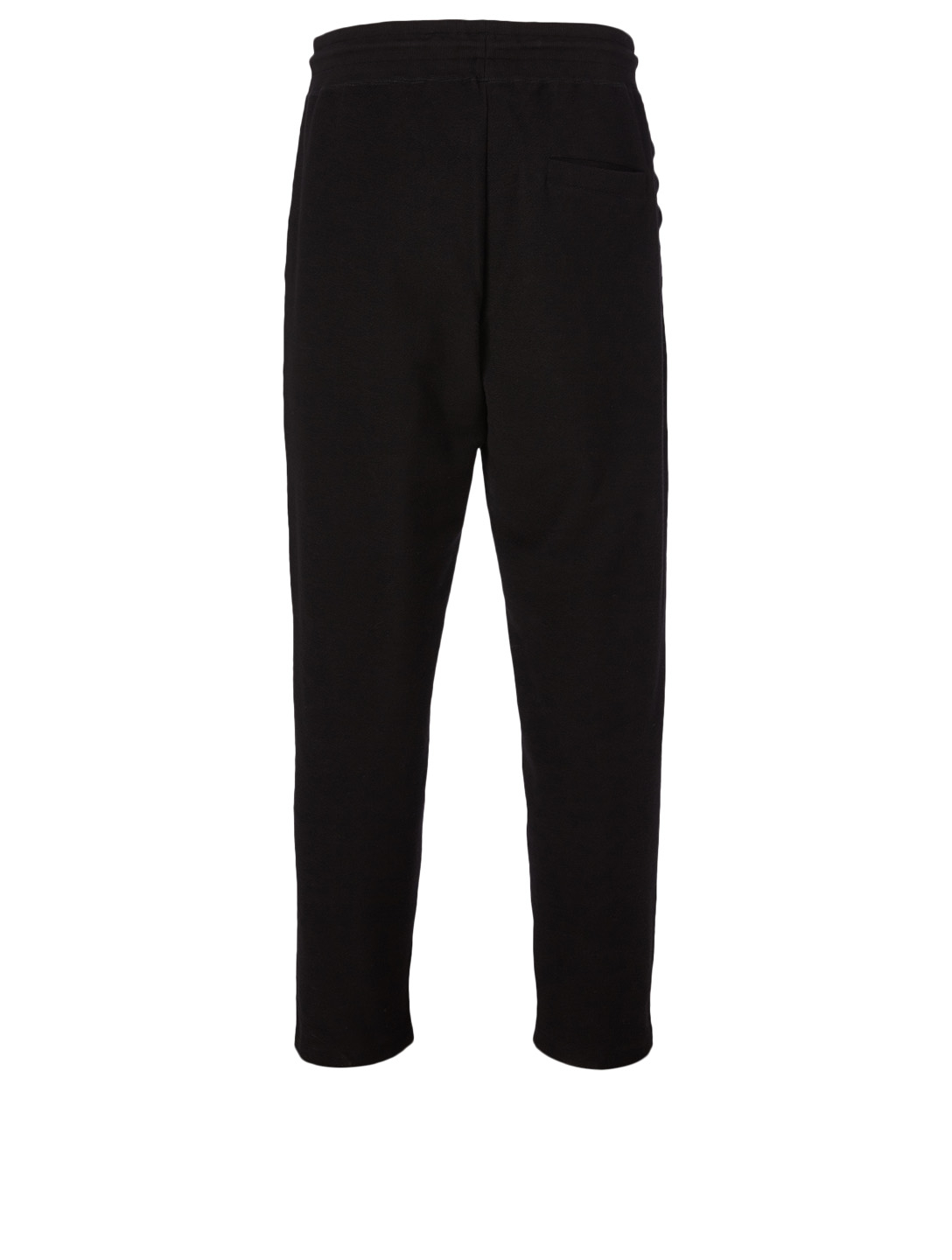 CRAIG GREEN Laced Cotton Pants Men's Black