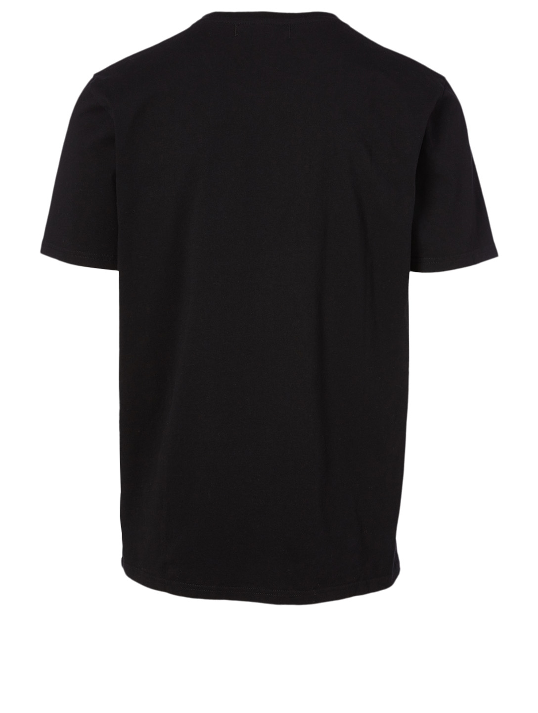 CRAIG GREEN Cotton T-Shirt With Hole Men's Black