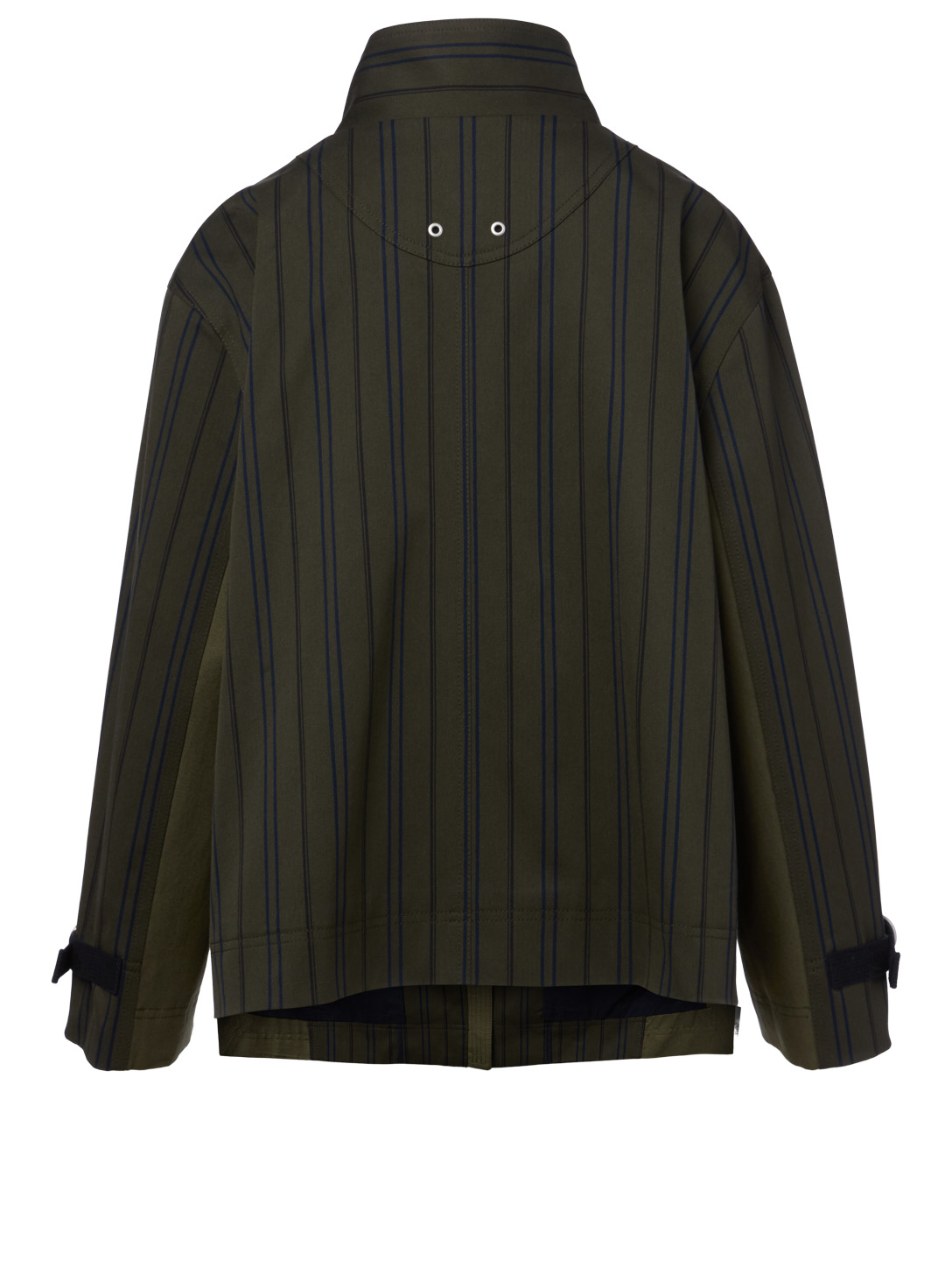 KUHO Zip Jacket In Striped Print Women's Green