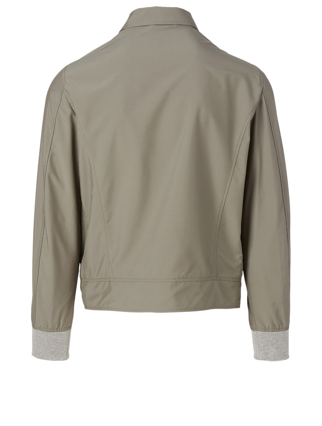 ELEVENTY Wool-Blend Bomber Jacket Men's Green
