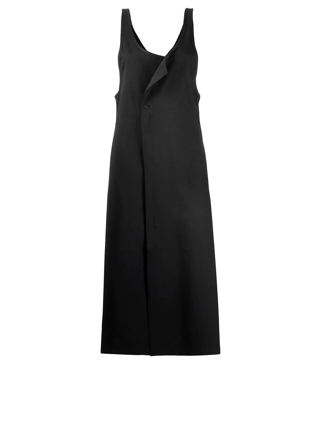 Y-3 Wool Blend Midi Dress Women's Black