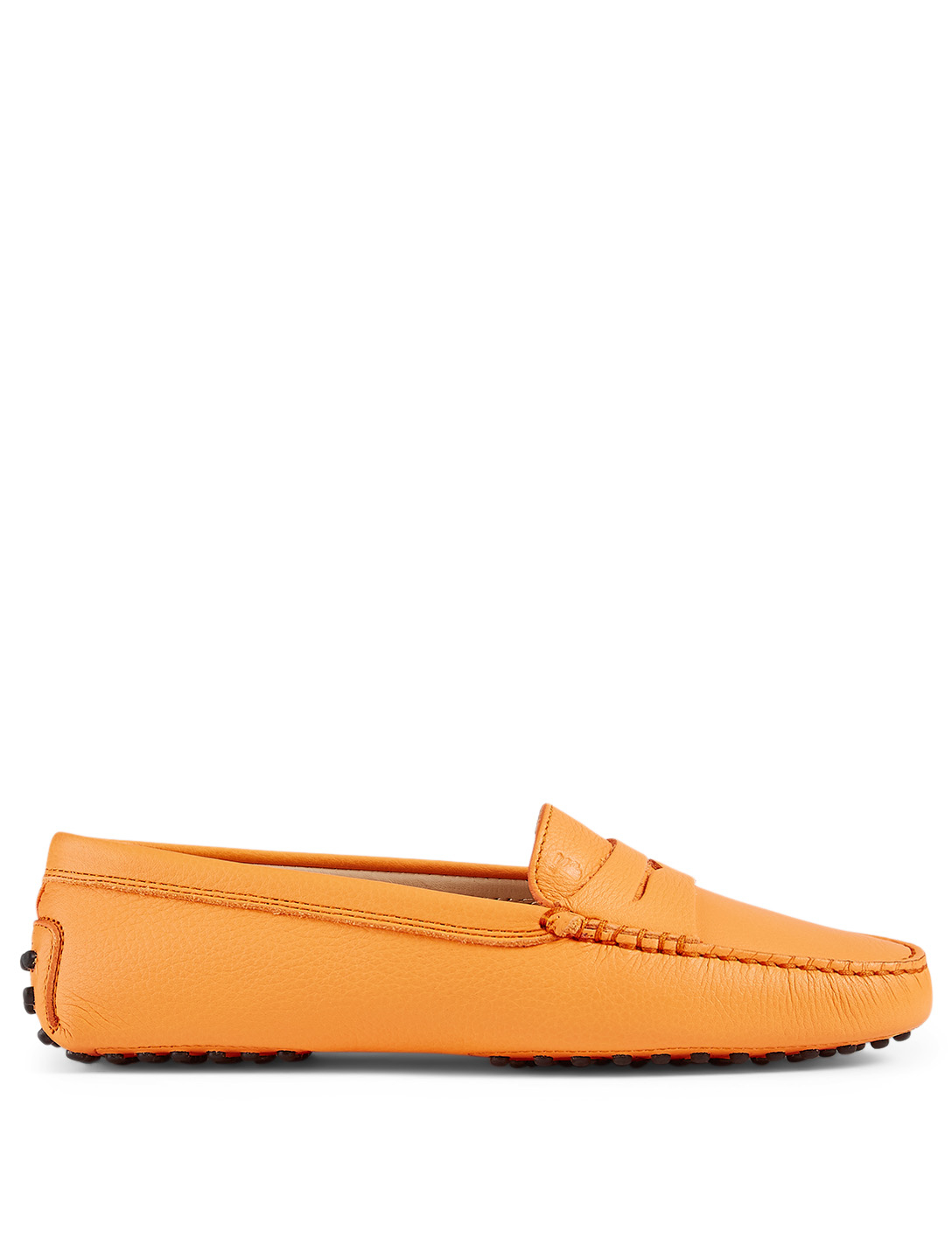 TOD'S Moccassins Gommino en cuir Femmes Orange