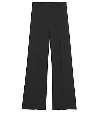 THEORY Crepe Wide Pants Women's Black