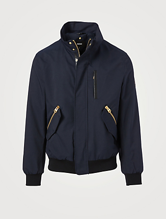 MACKAGE Dixon 2-In-1 Bomber Jacket Men's Blue