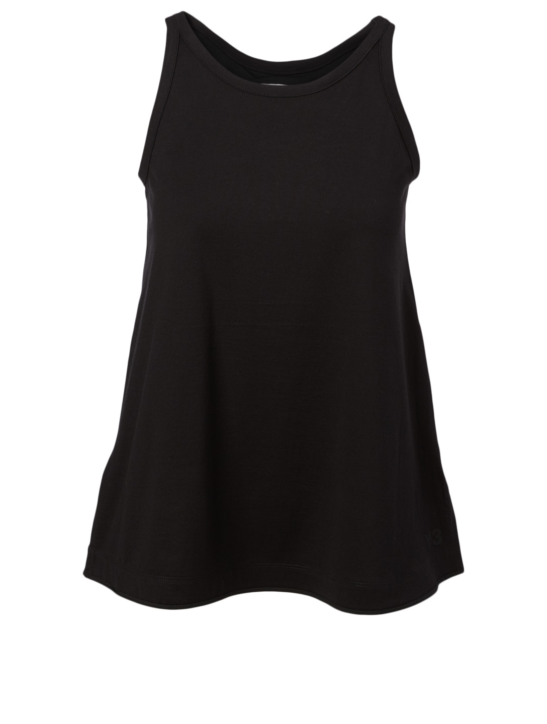 Y-3 Cotton Jersey Tank Top Women's Black