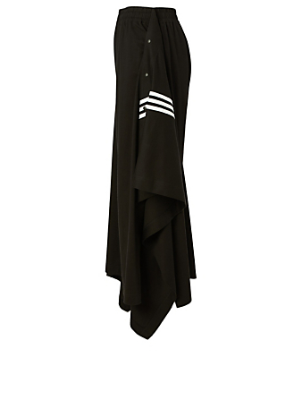 Y-3 Cotton Swim Wrap Skort Women's Black