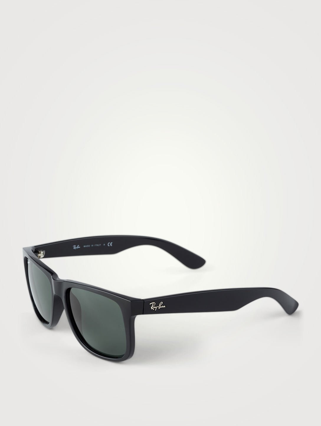 RAY-BAN Justin Classic Square Sunglasses Men's Black