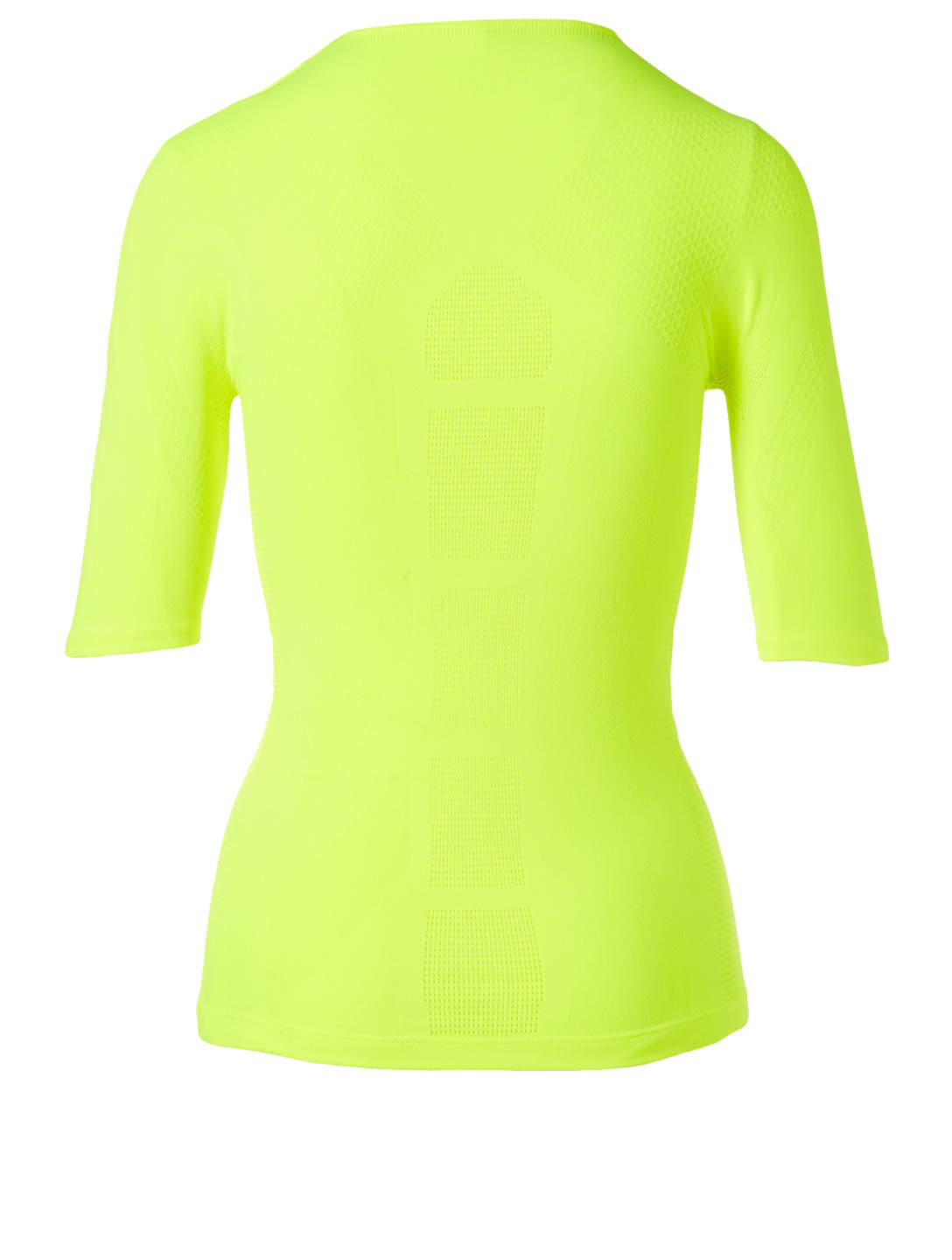 BALENCIAGA Athletic Logo T-Shirt Women's Yellow