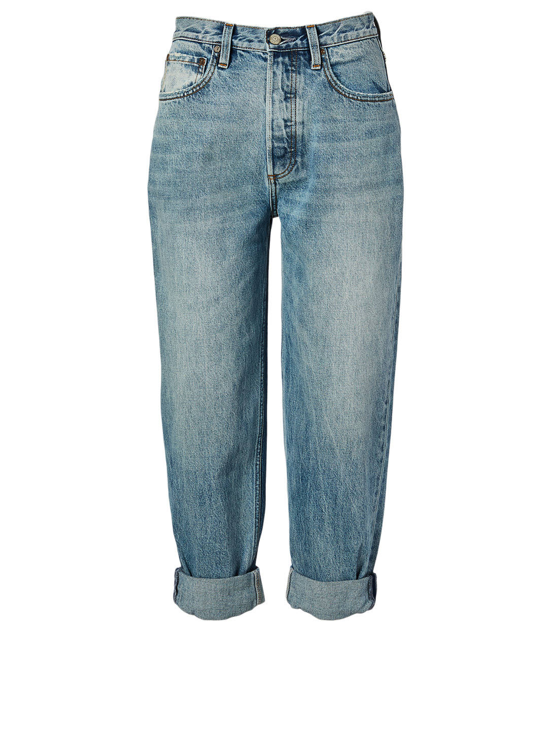 BOYISH The Toby High-Waisted Jeans Women's Blue