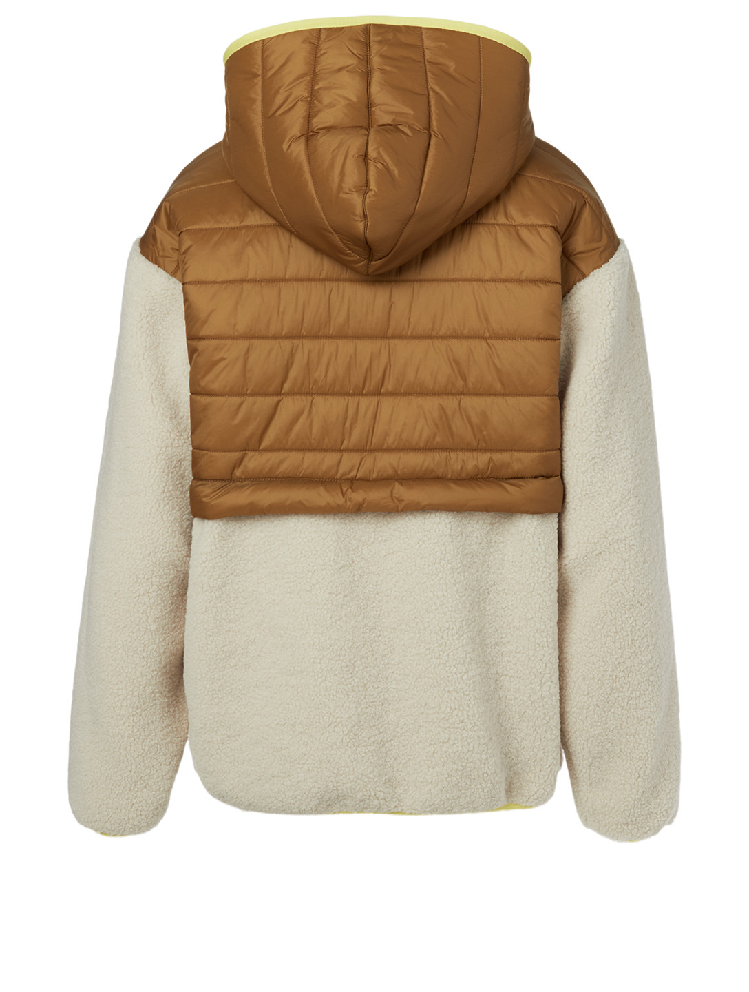 MOTHER Sher-Puff Pullover Sweater Women's Beige
