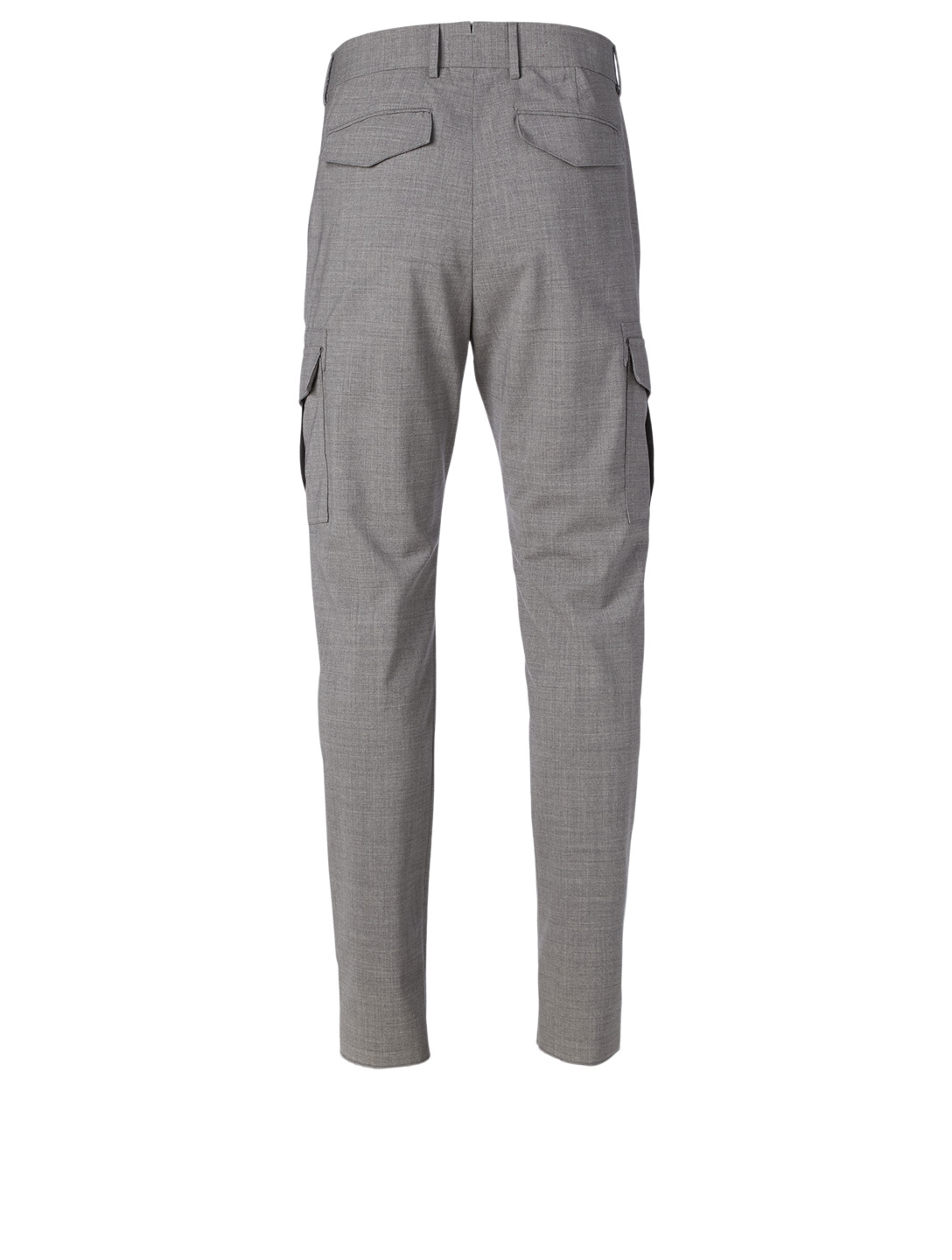 ELEVENTY Stretch Wool Cargo Pants Men's Grey