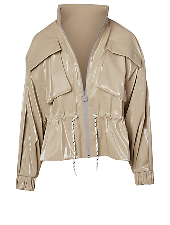 MICHI Ares Water-Resistant Jacket Women's Metallic