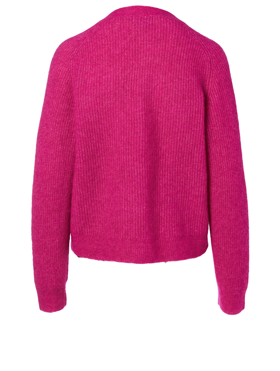 GANNI Alpaca And Wool Cardigan Women's Pink