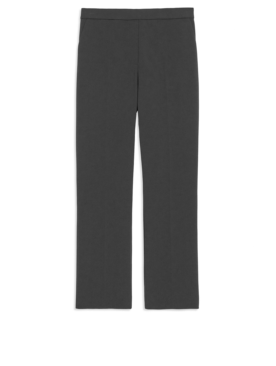 THEORY Cropped Pull-On Pants Women's Black