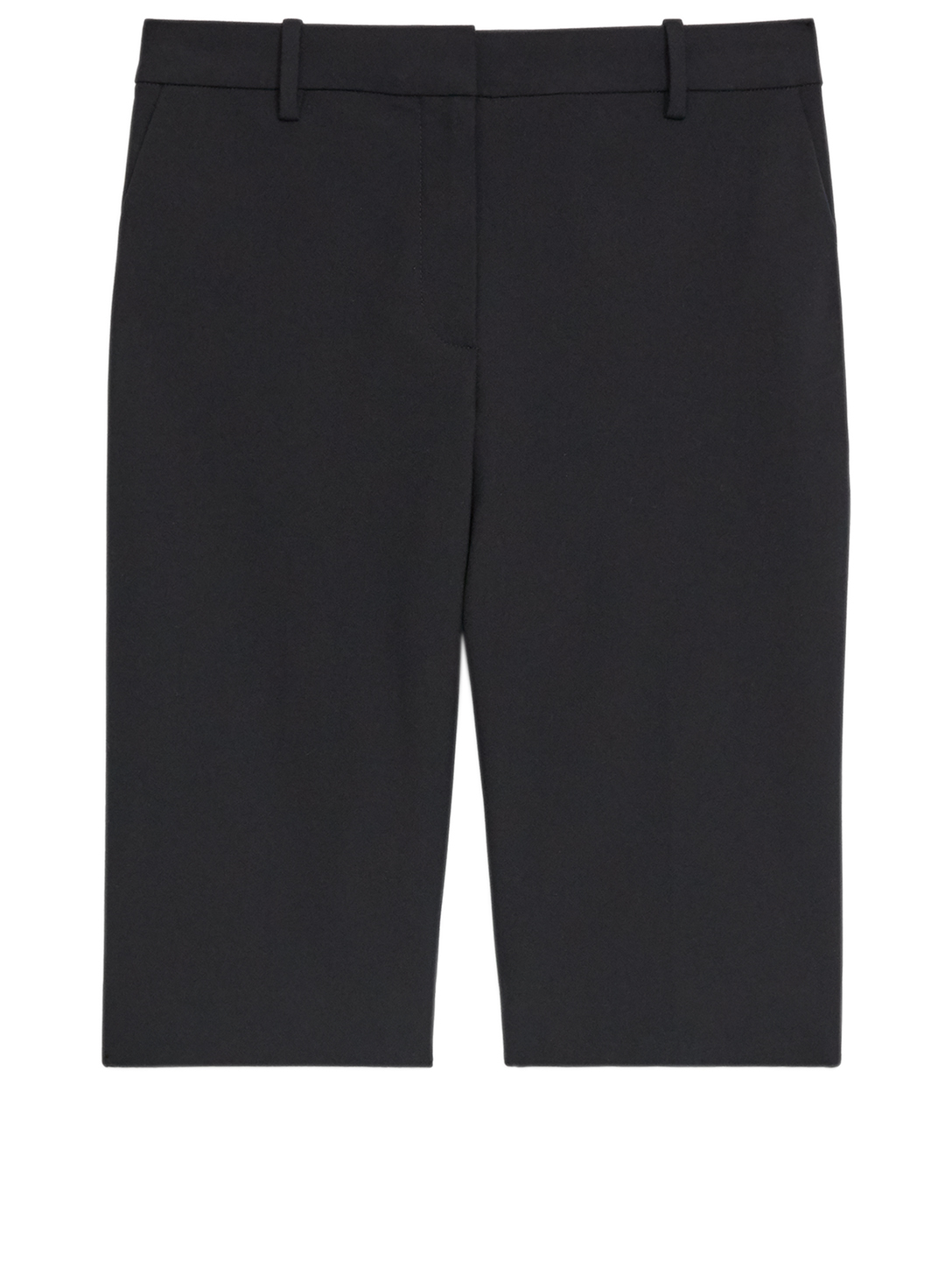 THEORY Treeca Cotton Stretch Shorts Women's Black