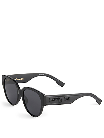 DIOR DiorID2 Cat Eye Sunglasses Women's Black