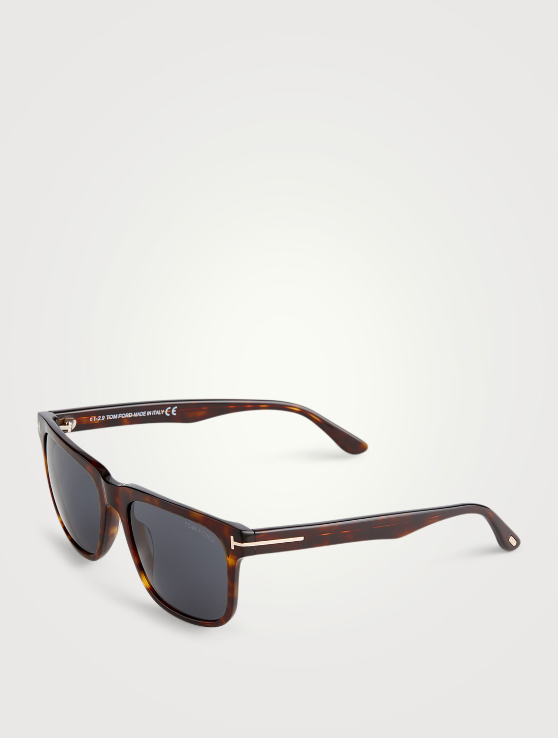 TOM FORD Stephenson Square Sunglasses Men's Brown