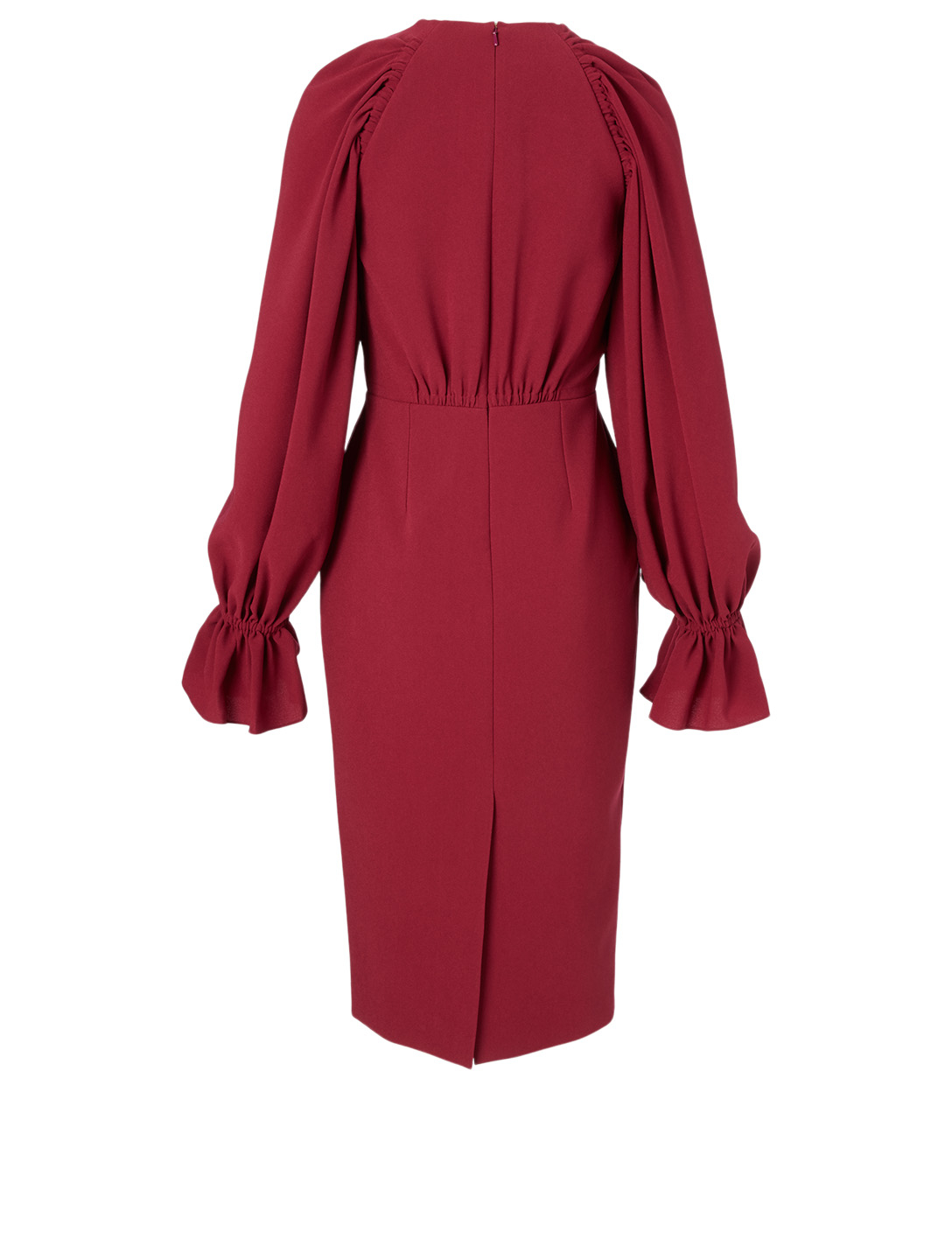 ROKSANDA Vaniria Long-Sleeve Dress Women's Red