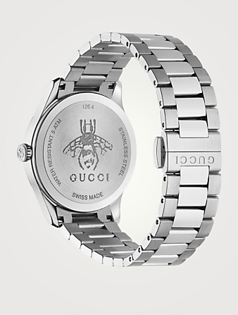 GUCCI G-Timeless Stainless Steel Watch Men's Metallic