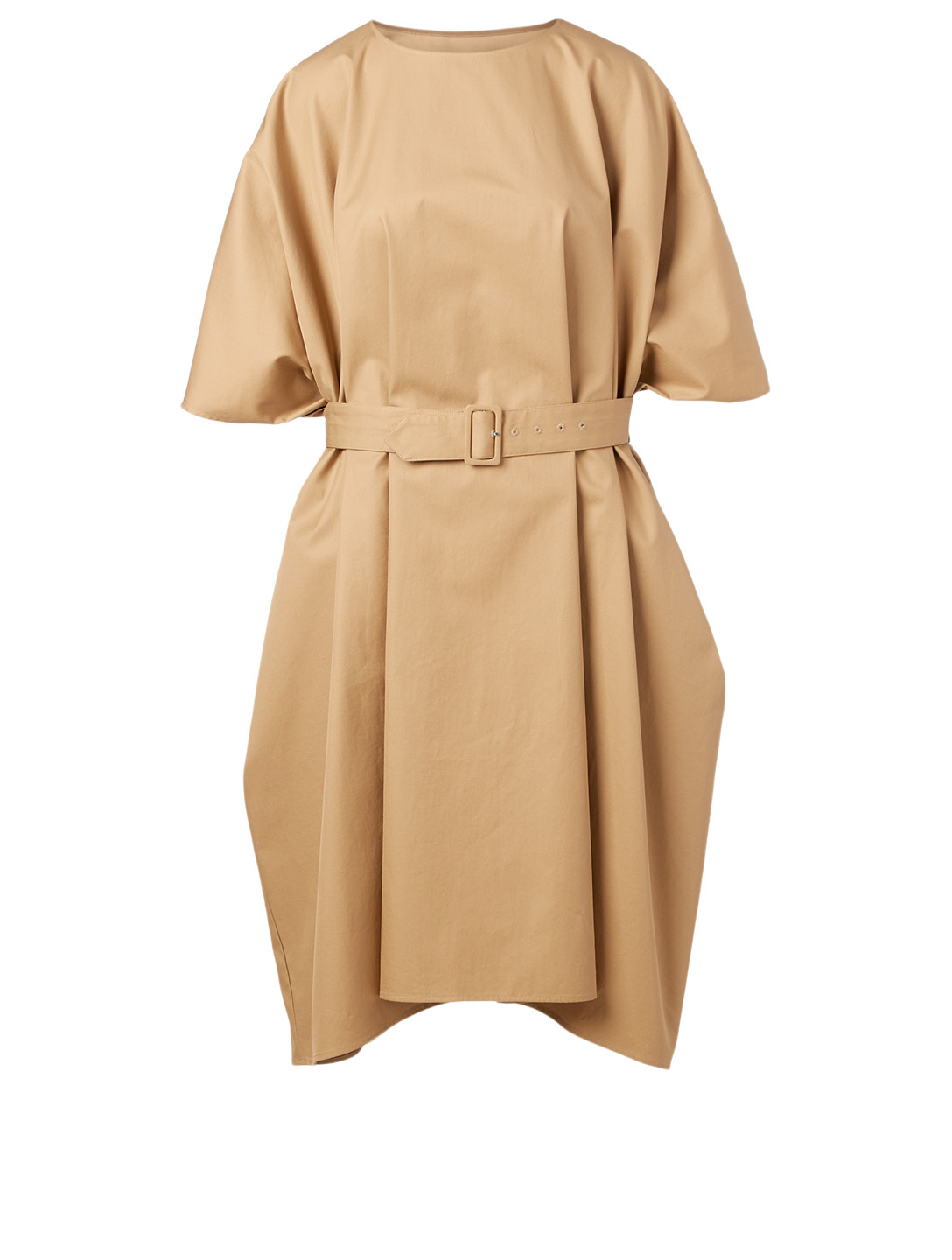 MM6 MAISON MARGIELA Cotton Dress With Belt Women's Beige