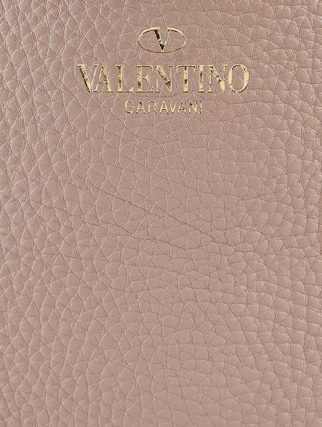 VALENTINO GARAVANI Rockstud Leather Tote Bag Women's Pink