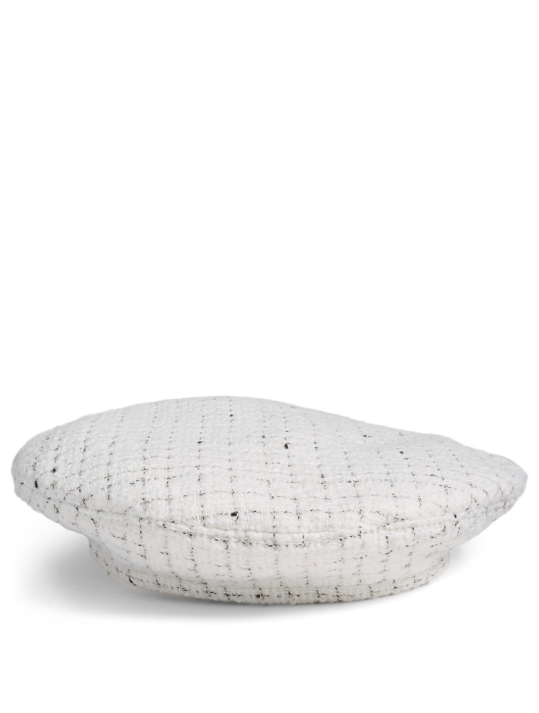 RUSLAN BAGINSKIY Checked Beret Women's White