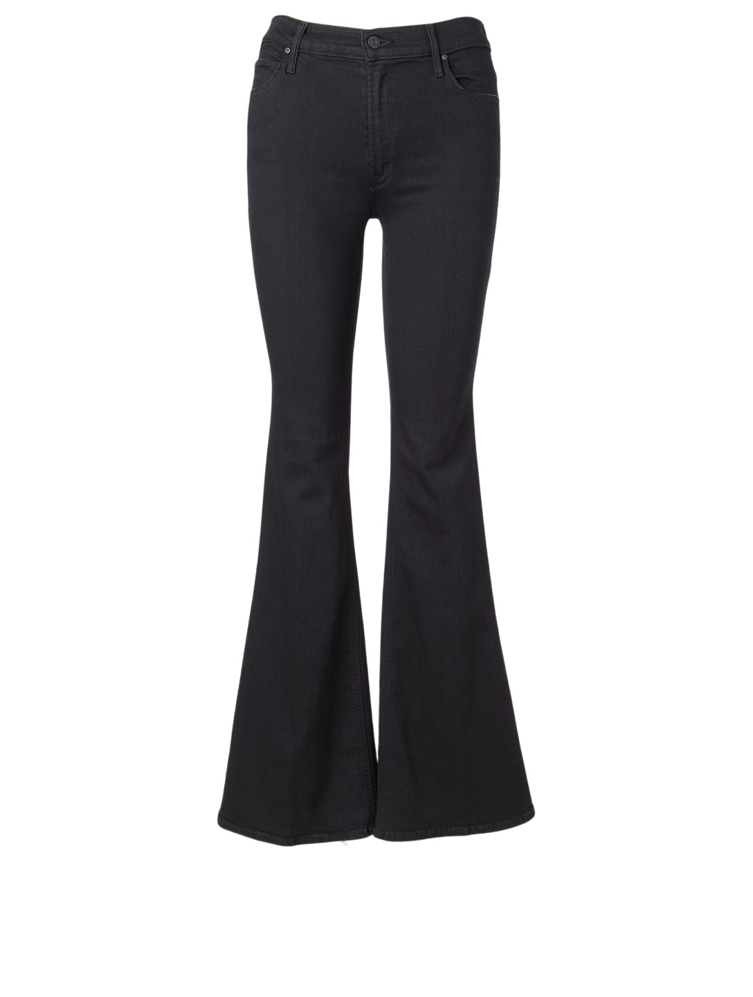 MOTHER Doozy Flared Jeans Women's Black