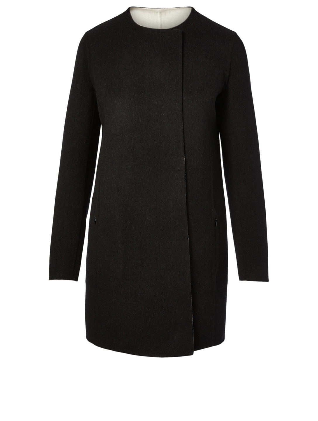 AKRIS Wool And Cashmere Reversible Coat Women's Multi